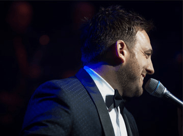Mark Daniels Performing as Micheal Buble